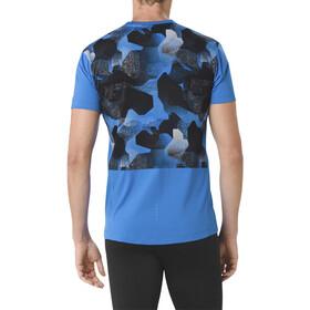 asics fuzeX T-shirt Heren, directoire blue
